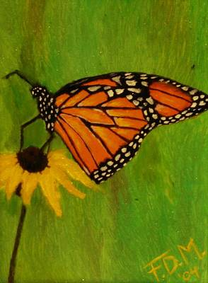 Painting - Monarch  by Frank Middleton