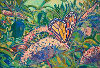 Painting - Monarch by Kendall Kessler