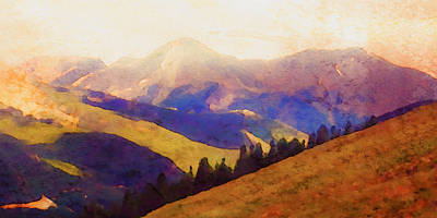 Painting - Monarch Pass Colorado by Teri Brown