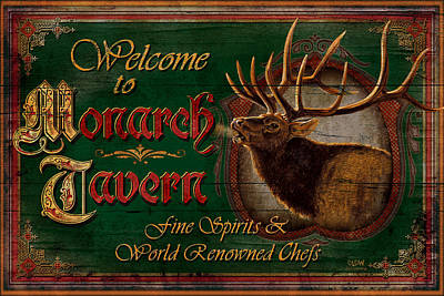 Painting - Monarch Tavern by JQ Licensing