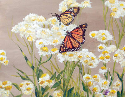 Painting - Monarchs by Ronald Lightcap