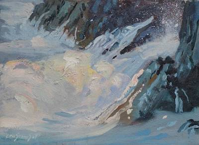 Painting - Monarola Surf by Len Stomski