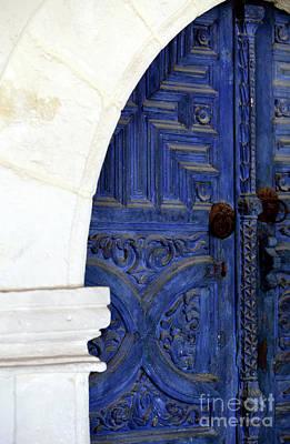 Monastery Door Art Print by John Rizzuto