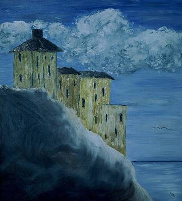 Painting - Monastery by Inge Lewis