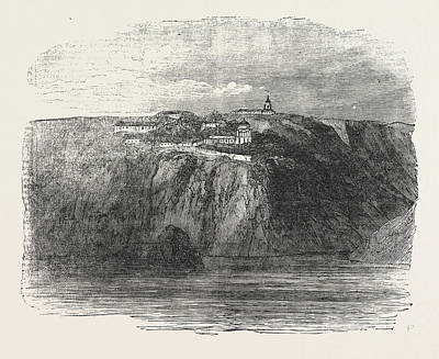 Monastery Of St. George Near Balaclava 1854 Art Print by English School