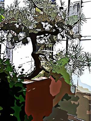 Monastery Mixed Media - Monastery Tree by Tamara Gantt