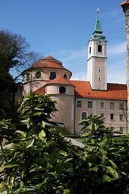 Monastery Weltenburg II Art Print by Christiane Schulze Art And Photography