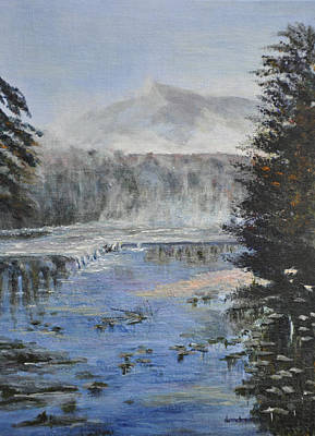 Painting - Monday Morning Fog by Dottie Branchreeves