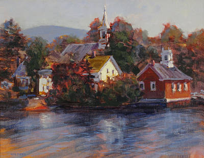 Painting - Monday Morning Harrisville by Ken Fiery