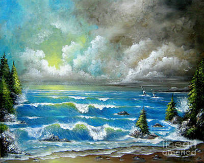 Painting - Sail At My Side by Patrice Torrillo