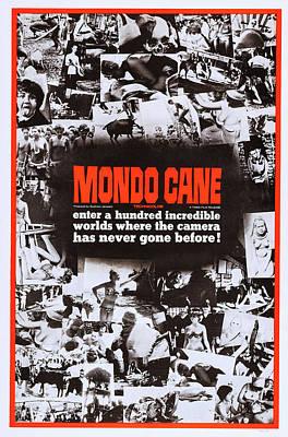 Cult Film Photograph - Mondo Cane, Us Poster Art, 1962 by Everett