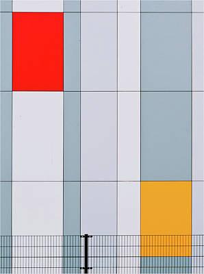 Netherlands Wall Art - Photograph - Mondriaan? by Henk Van Maastricht
