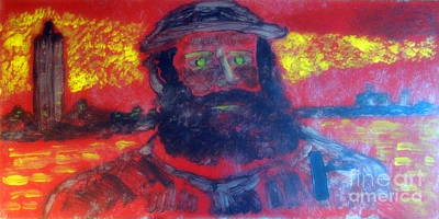 Painting - Great Artist Monet 1 by Richard W Linford