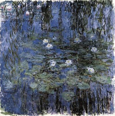 1916 Photograph - Monet, Claude 1840-1926. Blue by Everett
