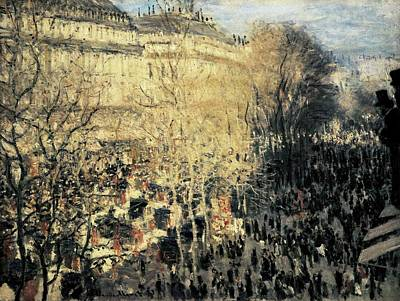 Impressionism Photograph - Monet, Claude 1840-1926. Carnival by Everett