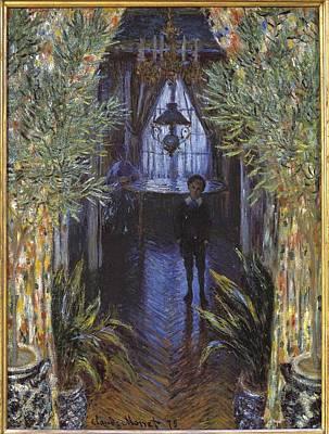 Impressionism Photograph - Monet, Claude 1840-1926. Corner by Everett