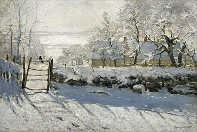 Impressionism Photograph - Monet, Claude 1840-1926. The Magpie by Everett