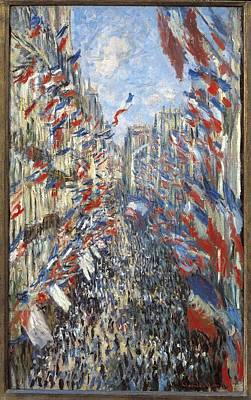Impressionism Photograph - Monet, Claude 1840-1926. The Rue by Everett