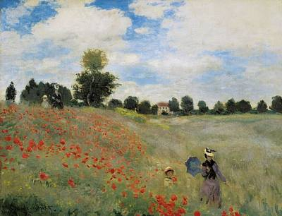 Impressionism Photograph - Monet, Claude 1840-1926. Wild Poppies by Everett