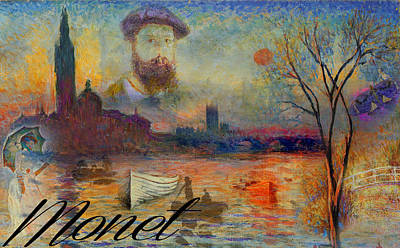 Photograph - Monet-esque by Greg Sharpe