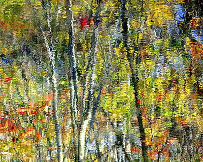 Monet Lives On Art Print
