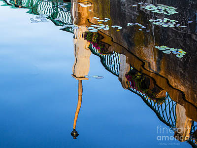 Photograph - Monet Reflection by Barbara McMahon