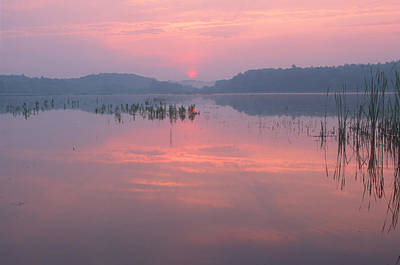 Concord Massachusetts Photograph - Monet Sunrise Great Meadows Concord Ma by Bucko Productions Photography