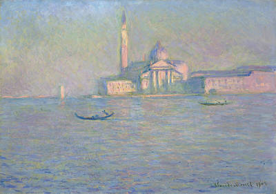 Turn Of The Century Painting - Monet Venice, 1908 by Granger
