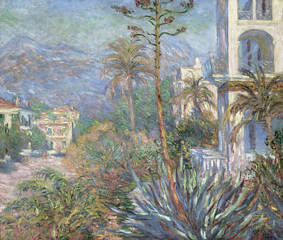 Villa Painting - Monet Villas, 1884 by Granger