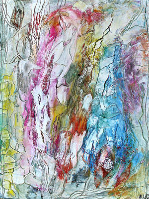Painting - Monet's Garden by Bellesouth Studio