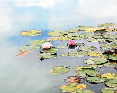 Mom Photograph - Monet's Garden by Brooke T Ryan