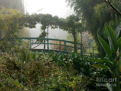 Photograph - Monet's Garden Number Four by Joan Liffring-Zug Bourret