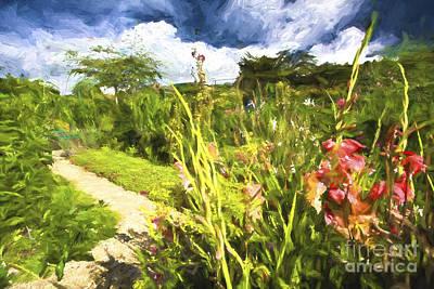 Impressionism Photos - Monets Garden by Sheila Smart Fine Art Photography