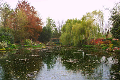 Photograph - Monet's Gardens L by Kathy Ponce