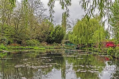 Kitchen Mark Rogan - Monets Water Garden by Elvis Vaughn