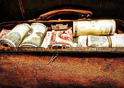 Photograph - Money Bag by Joan Reese