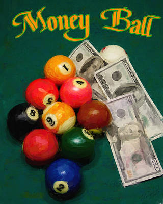 Money Ball Art Print by Frederick Kenney