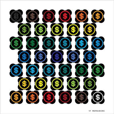 Digital Art - Money Desire Emotion Tnm by Mark Van den dries