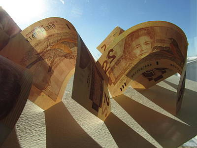 Photograph - Money In Sculpture by Alfred Ng