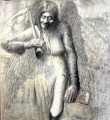 Betlej Painting - Money Killer by Piotr Betlej