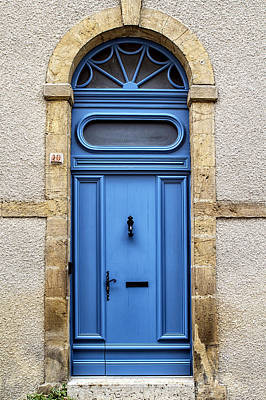 Monflanquin Door Art Print