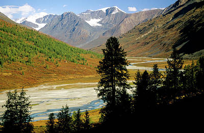 Altai Mountains Photograph - Mongolia Altai Mountains, Tavanbogd by Olivier Renck