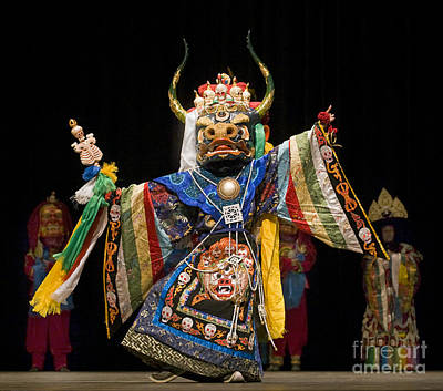 Photograph - Mongolian Yak Dancer  by Craig Lovell
