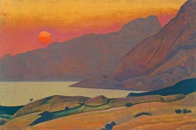 Russia Painting - Monhegan - Maine by Nicholas Roerich