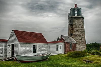 Photograph - Monhegan Island Light by Fred LeBlanc