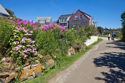 Maine Landscape Photograph - Monhegan Island by Susan  Degginger