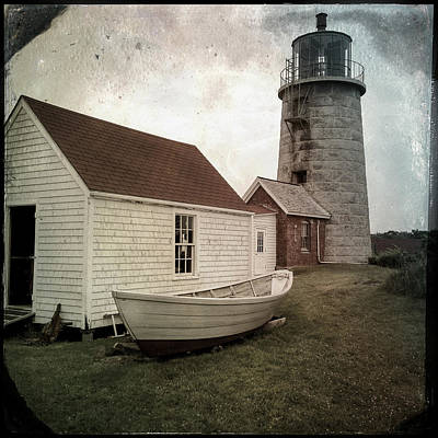 Photograph - Monhegan Light by Fred LeBlanc
