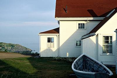 Photograph - Monhegan Museum - Hopper-like by AnnaJanessa PhotoArt
