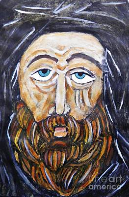 Orthodox Painting - Monk 4 by Sarah Loft