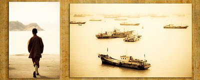 Photograph - Monk Byt The Harbor by Matthew Pace